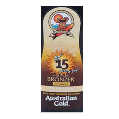 Imagem 2 do produto Spray Bronzeador Australian Gold Spray Gel Instant Bronzer SPF 15 - 237ml