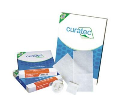Curativo De Alginato De Cálcio E Sódio Curatec - 15 X 25 Cm