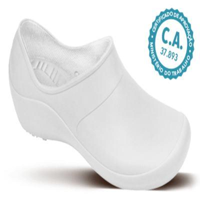 Sapato Profissional Feminino Mary Branco Boa Onda - 36
