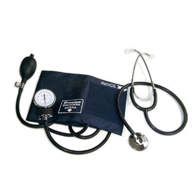 Aparelho de Pressão Aneróide com Estetoscópio Simples Infantil Premium
