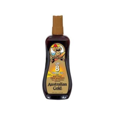 Bronzeador Solar Australian Gold Spray Gel Spf 8 - 237ml