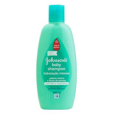 Shampoo Johnson's Baby Hidratação Intensa 200ml