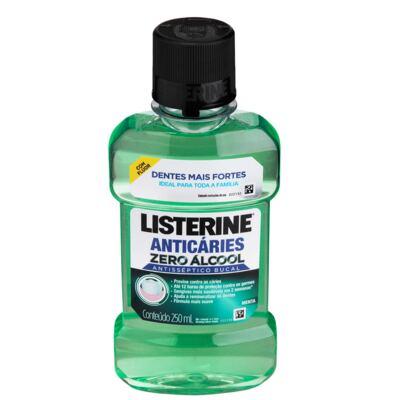 Imagem 1 do produto Antisséptico Bucal Listerine Anticáries Zero Álcool 250ml
