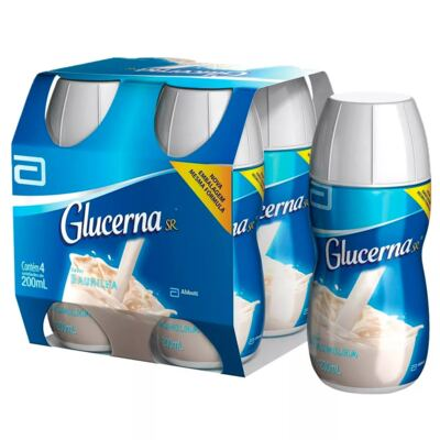 Imagem 2 do produto Complemento Alimentar Glucerna SR Baunilha 200ml 4 unidades