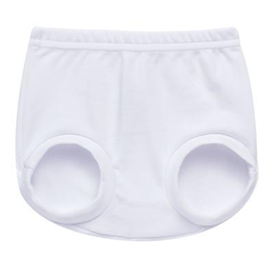 Cobre Fralda para bebe em suedine Branco - Tilly Baby - TB13116.01 COBRE FRALDA BRANCO -M