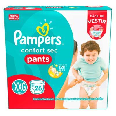 Fralda Pampers Pants - XXG | 26 unidades