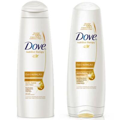 Shampoo + Condicionador Dove Óleo Nutrição 200ml