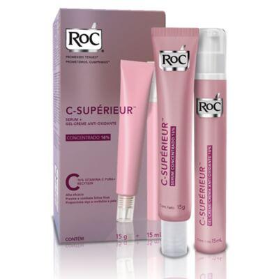 Imagem 6 do produto Roc C Superieur Concentrado 16% + Gel Creme Roc C Superieur Olhos 15g