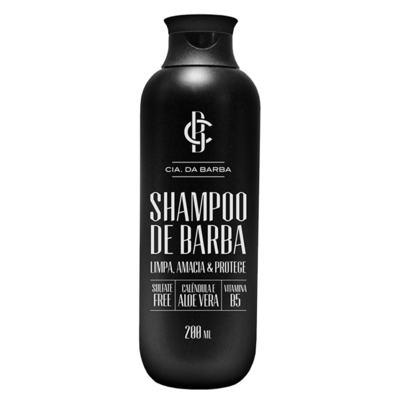 Shampoo de Barba Cia. da Barba - Shampoo para Barba - 200ml