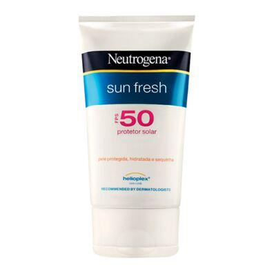 Imagem 1 do produto Protetor Solar Neutrogena Sun Fresh FPS50 - 120ml