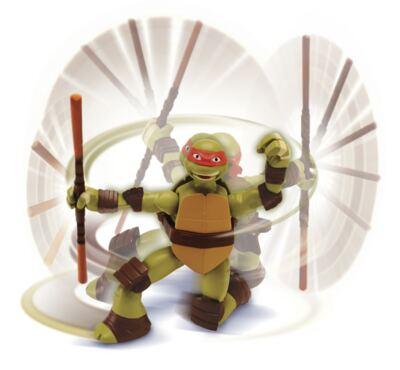 Boneco Tartarugas Ninjas Action Multikids - Raphael - BR286