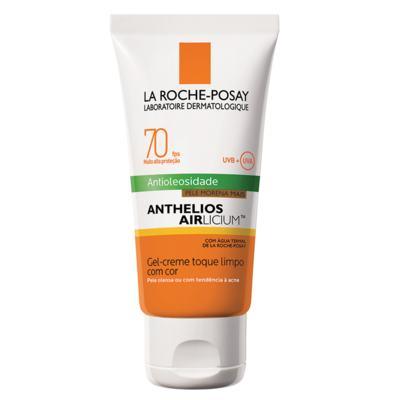 Imagem 1 do produto Protetor Solar Facial com Cor La Roche-Posay - Anthelios Airlicium Fps70 - Morena Mais