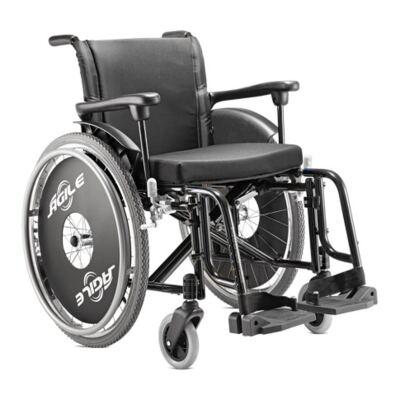 Cadeira de Rodas Ágile Preta Jaguaribe