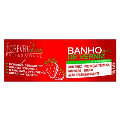 Imagem 2 do produto Forever Liss Banho de Verniz Morango - Máscara Capilar - 250g