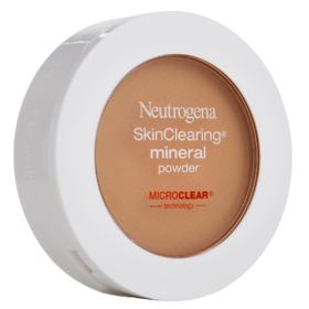Compacto Facial Neutrogena - SkinClearing Mineral Powder - Intenso