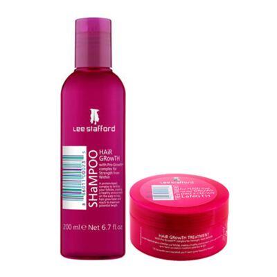 Imagem 1 do produto Kit Shampoo + Máscara Hidratante  Lee Stafford Hair Growth - Kit