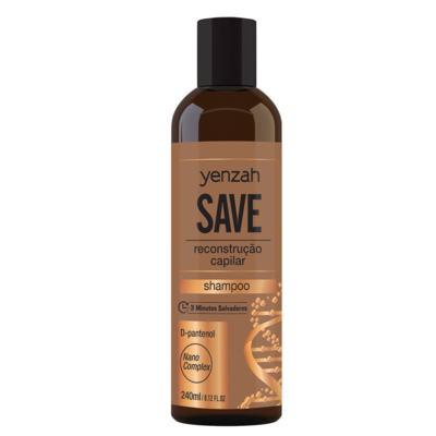 Imagem 3 do produto Yenzah Save Kit - Shampoo + Condicionador + Máscara + Leave-In - Kit