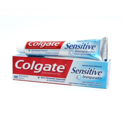 Creme Dental Colgate Sensitive Branqueador 100g