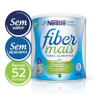 Imagem 1 do produto Suplemento de Fibras Nestlé Fibermais 260g