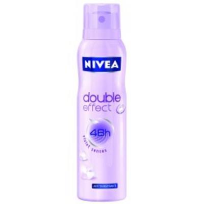 Desodorante Aerosol Nivea Feminino Double Effect 150ml
