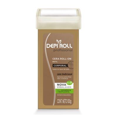 Imagem 1 do produto Cera Depilatória Corporal Tradicional Depi Roll Refil Feminina 100g