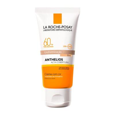 Imagem 1 do produto Protetor Solar Facial La Roche-Posay Anthelios Cor Clara FPS60 40ml