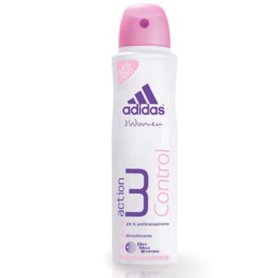 Imagem 1 do produto Desodorante Adidas Aerosol Feminino Action 3 Control 150ml