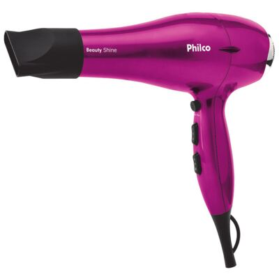 Secador Beauty Shine 2 Velocidades + 3 Temperaturas 2000W - Philco