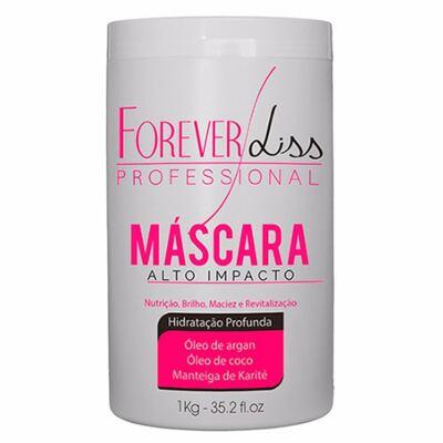 Forever Liss Alto Impacto - Máscara Hidratação Profunda - 1Kg