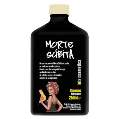 Imagem 4 do produto Kit Shampoo + Condicionador + Máscara Capilar Lola Cosmetics Morte Súbita - Kit