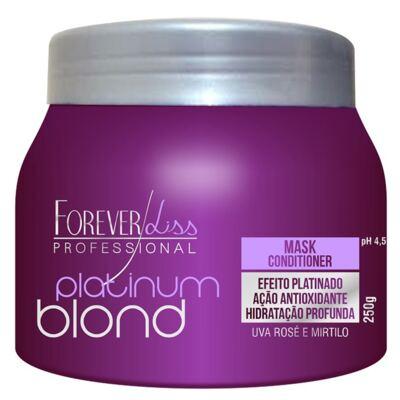 Imagem 1 do produto Forever Liss Platinum Blond - Máscara Matizadora - 250g