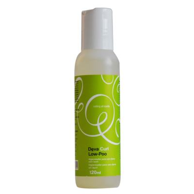Deva Curl Shampoo Low-Poo - Shampoo Higienizador Com Pouca Espuma - 120ml