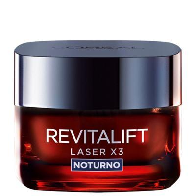 Imagem 1 do produto Rejuvenescedor Facial L'Oréal Paris Revitalift Laser X3 Noturno - 50ml