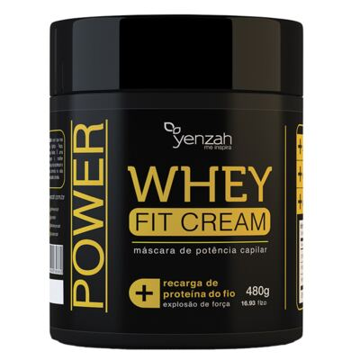 Imagem 5 do produto Kit Shampoo + Condicionador + Máscara Yenzah Power Whey Fit Cream - Kit