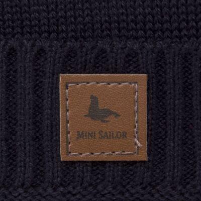 Imagem 2 do produto Touca em tricot Marinho - Mini Sailor - 46124262 GORRO TRICOT MARINHO-3