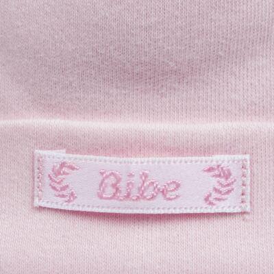Imagem 2 do produto Touca para bebe em algodão egípcio Rosa - Bibe - 10Y05-60 TOUCA BAS CRISTAL ROSA-RN