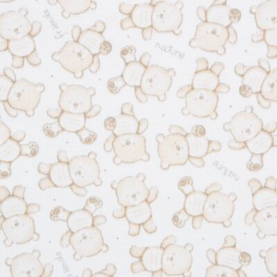 Imagem 5 do produto Pack: 02 Bodies curtos para bebe em algodão egípcio c/ jato de cerâmica Nature Little Friends - Mini & Classic - 1024650 PACK 2 BODIES MC SUEDINE NATURE -M