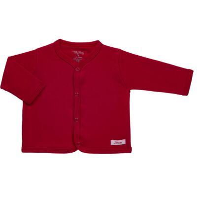 Imagem 1 do produto Casaco para bebe em suedine Vermelho - Tilly Baby - TB13115.04 CASACO SUEDINE VERMELHO CEREJA-RN