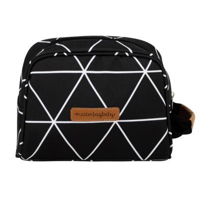 Imagem 4 do produto Bolsa 4 em 1 Sofia + Frasqueira térmica Emy + Necessaire Manhattan Preto - Masterbag