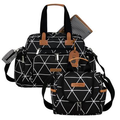 Imagem 1 do produto Bolsa Everyday + Frasqueira térmica Emy Manhattan Preto - Masterbag