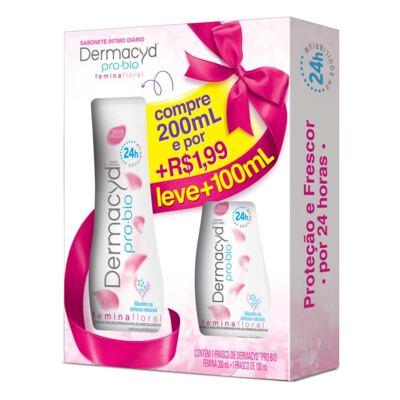 Imagem 1 do produto Sabonete Íntimo Dermacyd 24 Horas 200ml