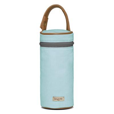 Imagem 5 do produto Bolsa Passeio para bebe + Bolsa Ibiza + Frasqueira Térmica Toulon + Trocador Portátil + Porta Mamadeira sarja Adventure Azul - Classic for Baby Bags