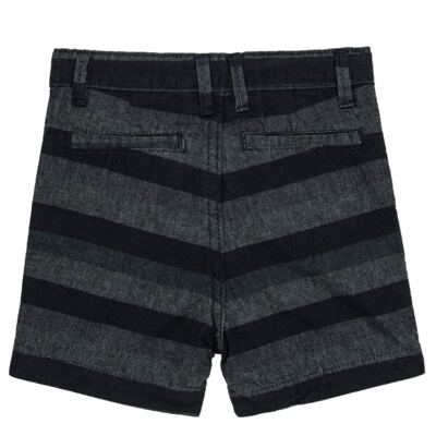 Imagem 4 do produto Bermuda para bebe Striped Jeans - Reserva Mini - AVESSO-M