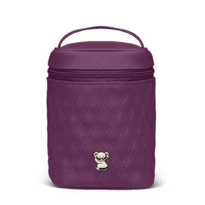Imagem 1 do produto Bolsa Térmica para bebe Firenze Golden Koala Vinho - Classic for Baby Bags