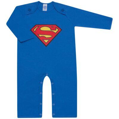 Imagem 2 do produto Fantasia Superman: Macacão longo com Capa em malha Stica Stica - Get Baby - 211063 MACACAO TODDLER LONGO M/L-2