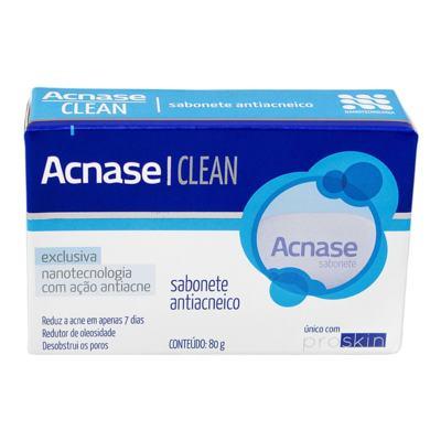 Imagem 2 do produto Kit Acnase 3 Sabonetes Antiacne 80g + Clean Gel 50g