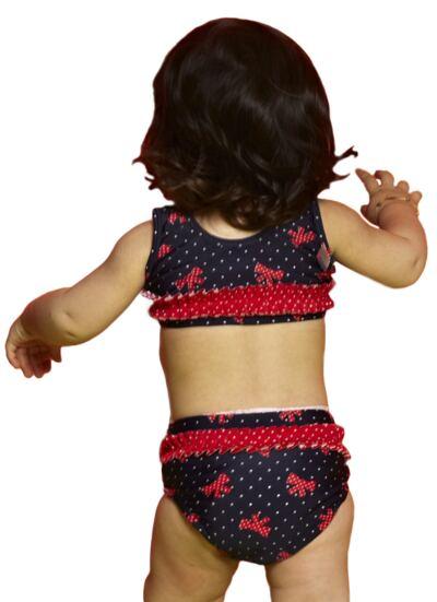 Imagem 3 do produto Biquini para bebe em lycra Navy - Puket