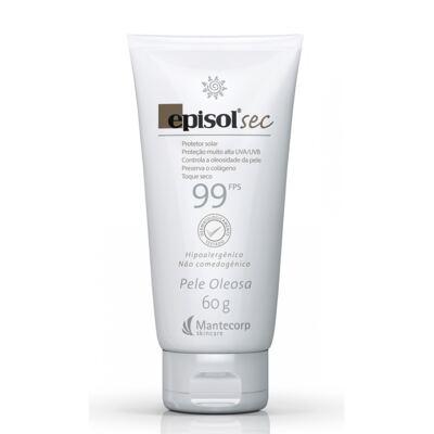 Imagem 1 do produto Protetor Solar Sec Toque Seco FPS 99 Episol Mantecorp Skincare 60g