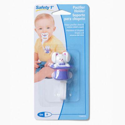 Imagem 1 do produto Prendedor de Chupeta Coelinho (6m+) -  Safety 1st