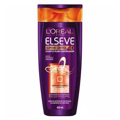 Imagem 2 do produto Kit Condicionador + Creme de Pentear + Shampoo L'Oréal Paris Elseve Supreme Control 4D - Kit